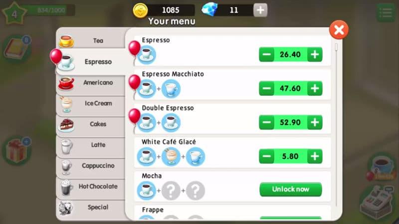 Cafe tipps my spiel Girls Games